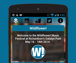 Wildflower! Festival - Android