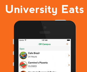 University Eats Mobile Application