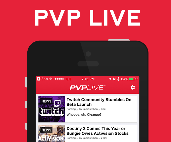 PVP Live - iOS and Anroid Applications